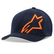 Alpinestars Corp Shift 2 Navy Orange Cap
