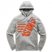 Alpinestars Kids Bigun Fleece Grey Hoodie