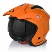 Acerbis Jet Aria Orange Trials Helmet