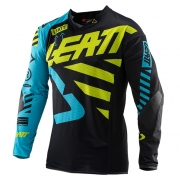 Leatt GPX 5.5 Black Lime Motocross Jersey