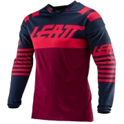 Leatt GPX 4.5 Lite Ink Red Motocross Jersey
