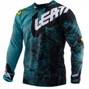 Leatt GPX 4.5 Lite Tech Blue Motocross Jersey
