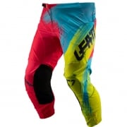 Leatt Kids GPX 2.5 Red Lime Motocross Pants