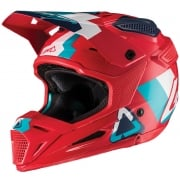 Leatt GPX 5.5 V19.2 Red Teal Helmet