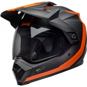 Bell MX9 MIPS Adventure Helmet - Switchback Matte Black Orange
