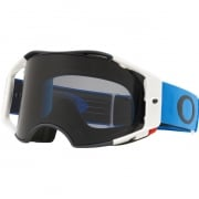 Oakley Airbrake MX Goggles - Blue Gunmetal Dark Grey
