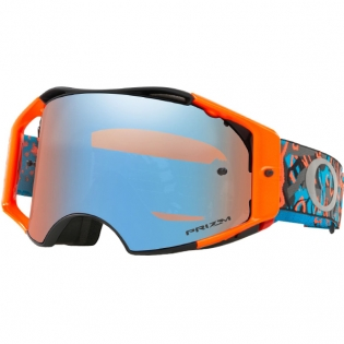 Oakley Airbrake MX Goggles - Camo Vine Night Orange Blue Prizm
