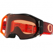 Oakley Airbrake MX Goggles - Equalizer Red Orange Prizm