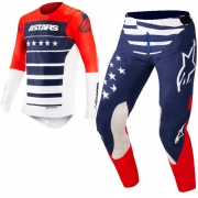 Alpinestars SuperTech LE Union Red Blue White Kit Combo