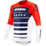 Alpinestars SuperTech LE Union Red Blue White Jersey