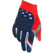 Alpinestars Aviator LE Union Red Blue White Gloves