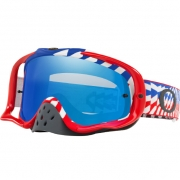 Oakley Crowbar Goggles - Break Bumps RWB Black Ice Iridium