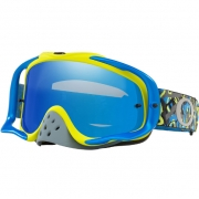 Oakley Crowbar Goggles - Camo Vine Blue Green Black Ice Iridium