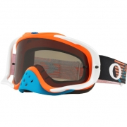 Oakley Crowbar Goggles - Circuit Orange Blue Dark Grey