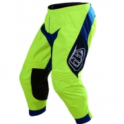 Troy Lee Designs SE Beta Flo Yellow Blue Pants