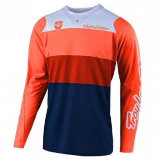 Troy Lee Designs SE Beta Orange Navy Jersey