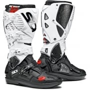 Sidi Crossfire 3 SRS Black White Motocross Boots
