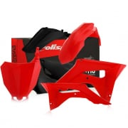 Polisport Honda Plastic Kit - Red Black