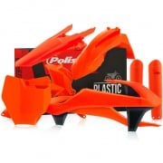 Polisport KTM Plastic Kit - Fluo Orange