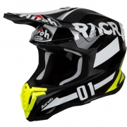 Airoh Twist Racr Black White Helmet