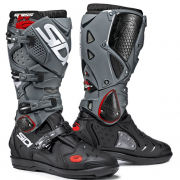 Sidi Crossfire 2 SRS Black Grey Motocross Boots