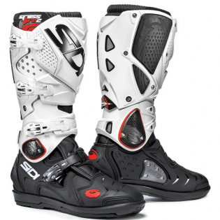 Sidi Crossfire 2 SRS Black White Motocross Boots