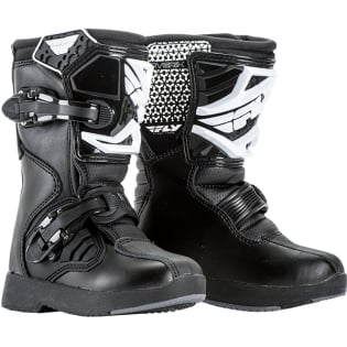Fly Racing Maverik Mini Kids Black Boots
