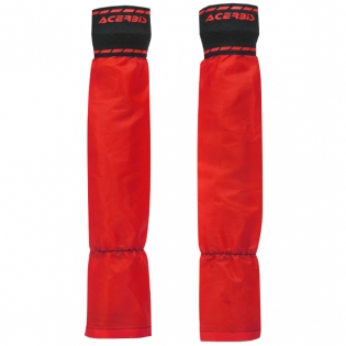 Acerbis X Mud Red Fork Covers