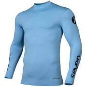 Seven MX Zero Compression Blue Jersey
