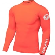 Seven MX Kids Zero Coral Compression Jersey