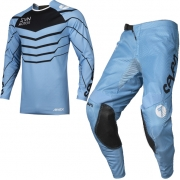 Seven MX Kids Annex Exo Blue Black Kit Combo