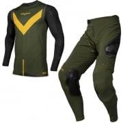 Seven MX Kids Zero Victory Olive Orange Kit Combo