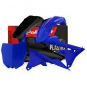 Polisport Yamaha Plastic Kit - Blue Black