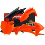 Polisport KTM Plastic Kit - Orange Black