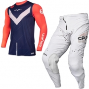 Seven MX Zero Victory Coral Navy White Kit Combo
