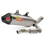 Pro Circuit T-6 Stainless ACU Exhaust System - KTM SXF 350