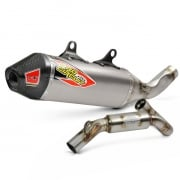 Pro Circuit T-6 Stainless ACU Exhaust System - KTM SXF 450