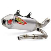 Pro Circuit T-6 Stainless Exhaust System - Husqvarna FC 350