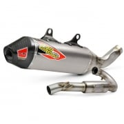 Pro Circuit T-6 Stainless ACU Exhaust System - Husqvarna FC250
