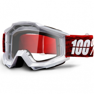 100% Accuri Graham Clear Lens Goggles