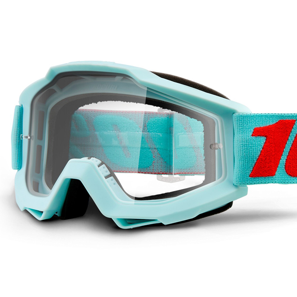 how to clean 100 percent goggles