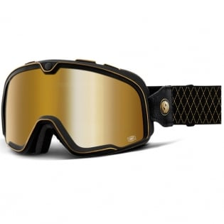100% Barstow Classic Roland Sands Gold Lens Goggles