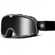 100% Barstow Classic Noise Silver Lens Goggles