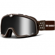 100% Barstow Classic Garage Silver Lens Goggles