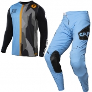 Seven MX Kids Zero Raider Blue Black Kit Combo