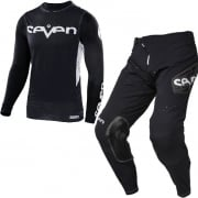 Seven MX Kids Zero Staple Black Kit Combo