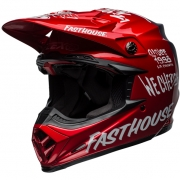 Bell Moto 9 Carbon Flex Fasthouse Dirt Red Navy Helmet