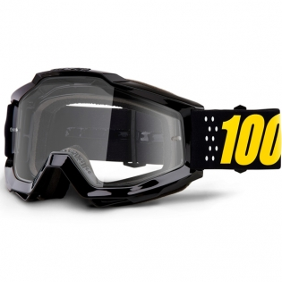 100% Accuri Kids Pistol JR Clear Lens Goggles