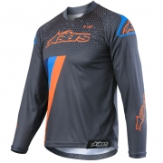 Alpinestars Kids Racer Ltd Ed Magneto Orange Cyan Jersey