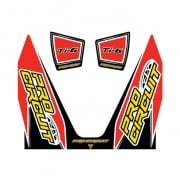 Pro Circuit Replacement 4 Stroke Exhaust Sticker Kit